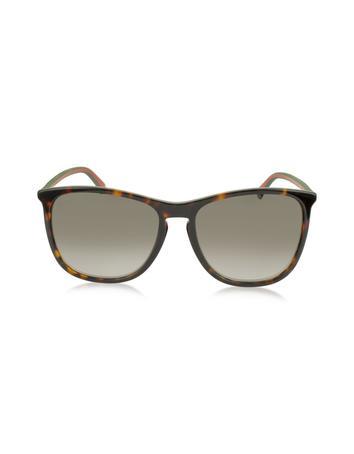 GG3767 / S Acetate Women Web Logo Sunglasses