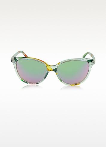 GG 3633/N/S Flora Silk Cat-Eye Women Sunglasses - Gucci