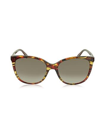 Gucci GG 3751/S Lunettes de Soleil en Acétate Léger