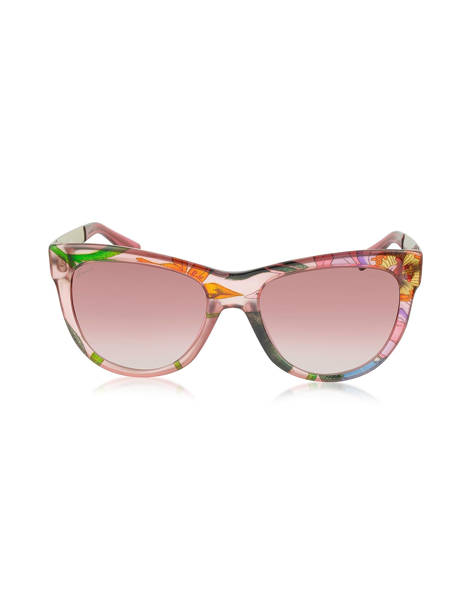 GG 3739/S Flora Silk - Солнечные Очки в Оправе Кошачий Глаз