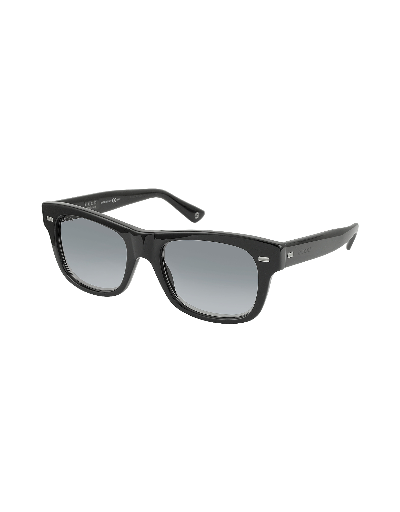 GG 1078/S 4UAVK Shiny Black Acetate Square Frame Sunglasses от Forzieri.com INT