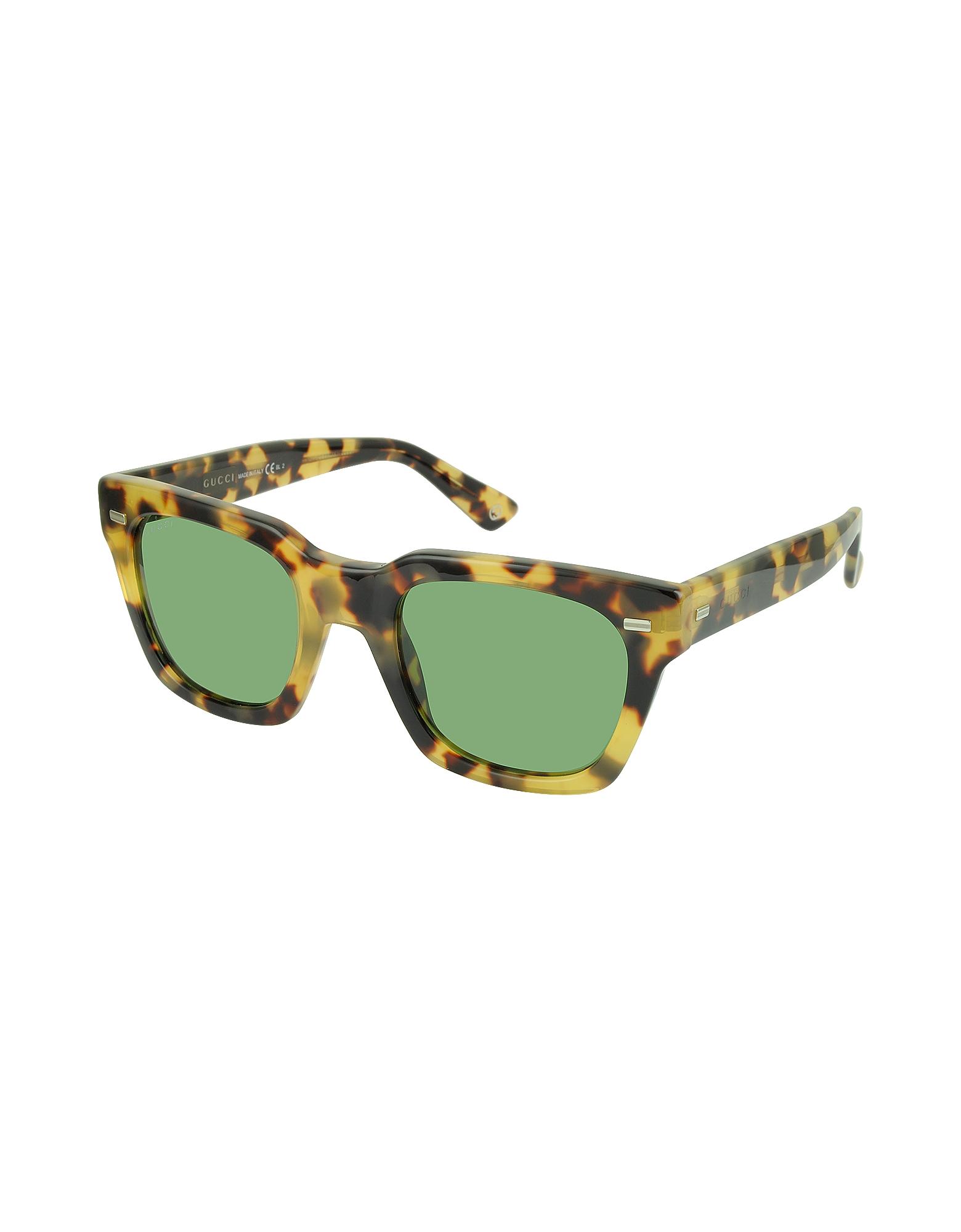GG 1099/S 00FDJ Havana Acetate Square Frame Sunglasses от Forzieri.com INT