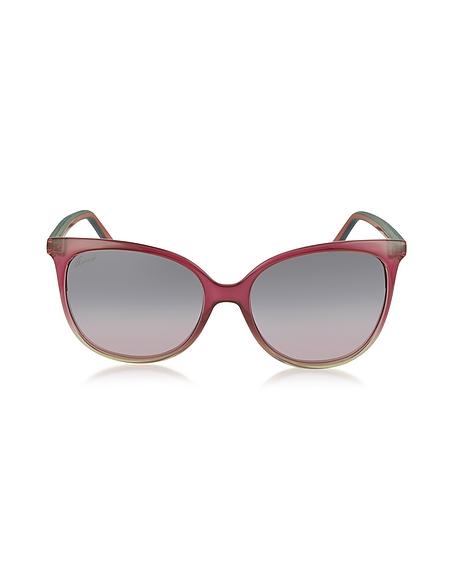 Foto Gucci GG 3649/S Occhiali da Sole con Aste Nastro Web Gommato