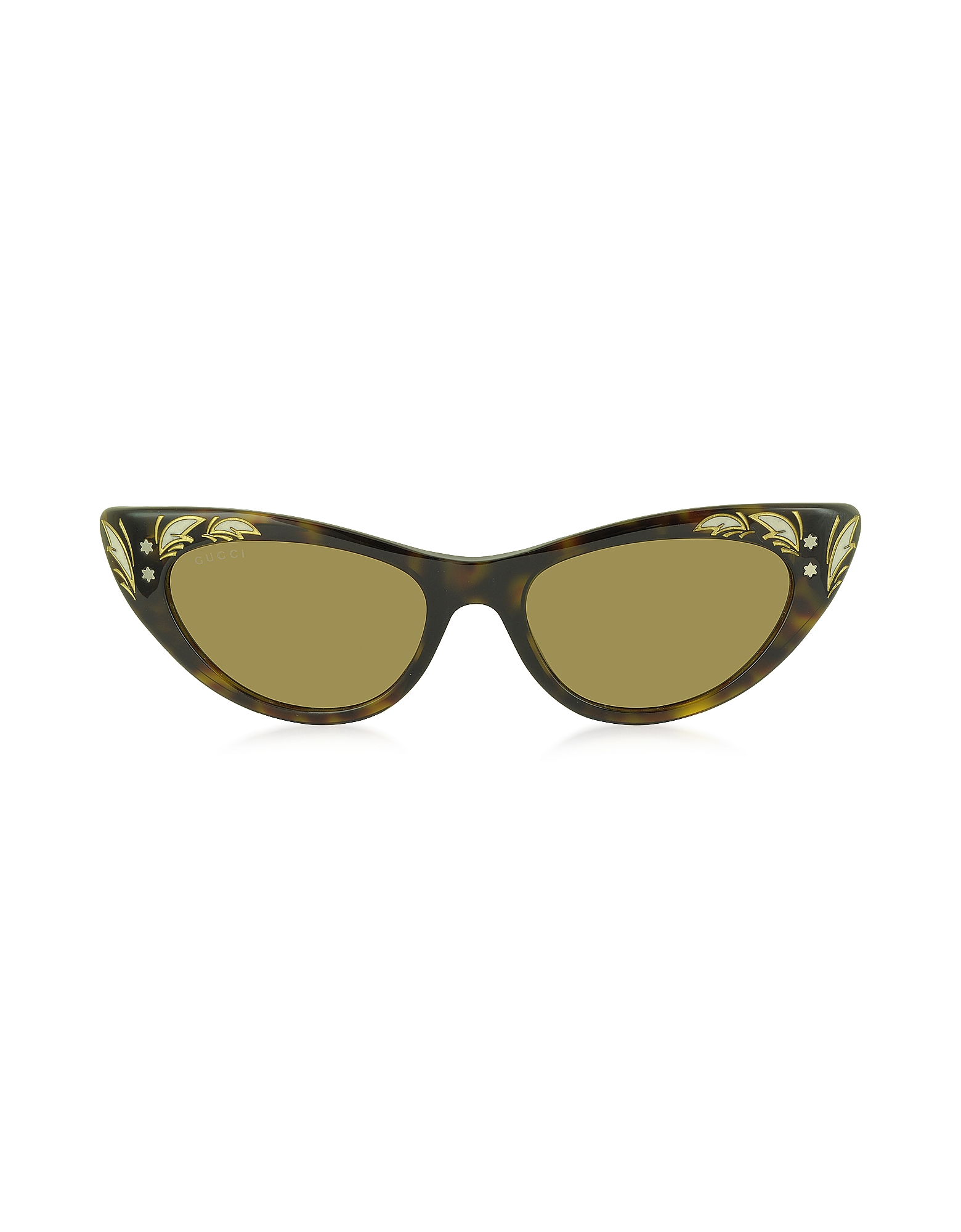 GG 3807/S 086N0 - Женские Солнечные Очки в Оправе Кошачий Глаз из Ацетата Гавана