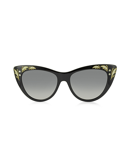 Foto Gucci GG 3806/S 807DX Occhiali da Sole Cat Eye con Cristalli