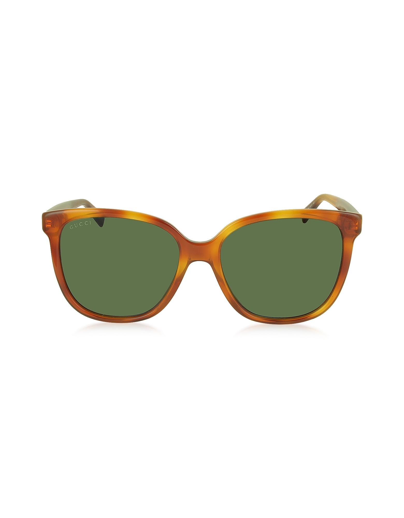 Gucci GG 3819/S - Женские Солнечные Очки в Квадратной Оправе из Ацетата