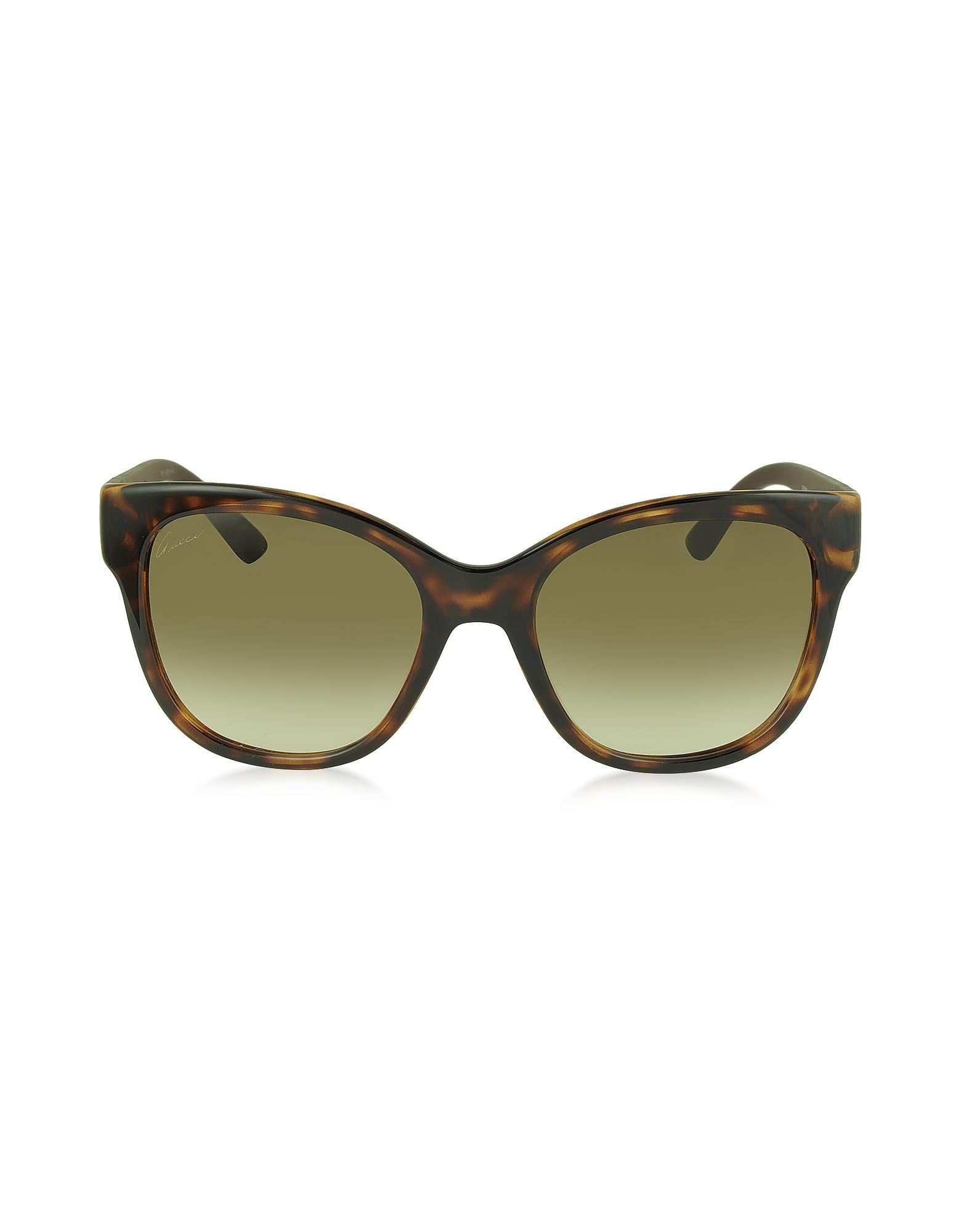 Gucci GG 3786/S - Женские Солнечные Очки в Оправе Кошачий Глаз из Ацетата