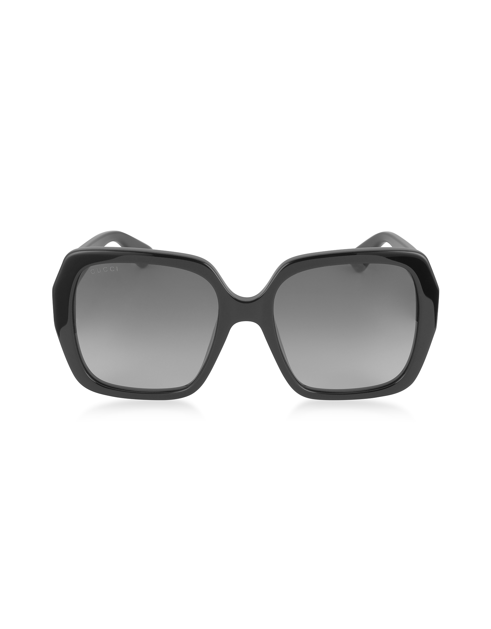 Gucci Sunglasses, GG0096S 001 Black Acetate Square Women's Sunglasses