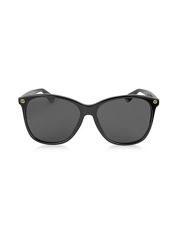 Gucci - GG0024S Acetate Round Oversized Women's Sunglasses