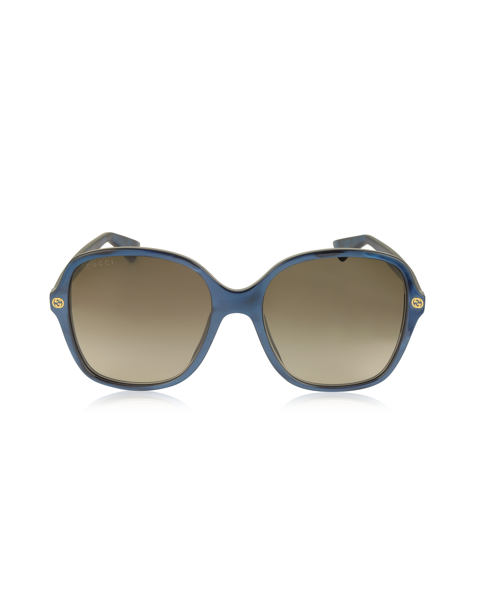 Gucci Designer Sunglasses, GG0092S Acetate Square Women's Sunglasses