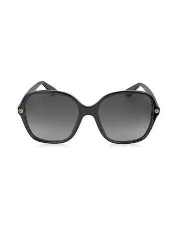 Gucci - GG0092S Acetate Square Women's Sunglasses