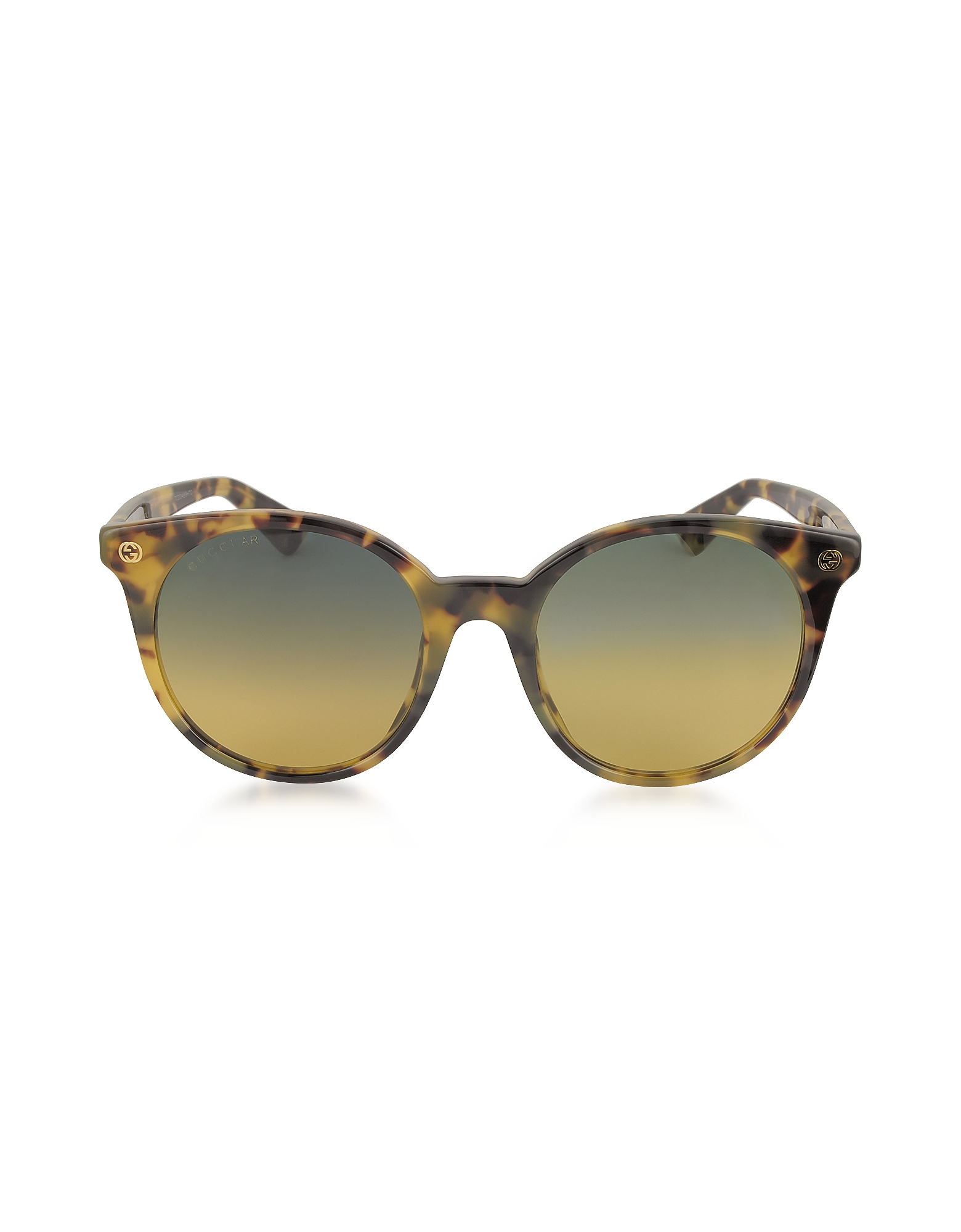 Gucci Sunglasses, GG0091S Acetate Round Women's Sunglasses