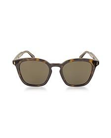 GG0125S Acetate Square Men's Sunglasses - Gucci