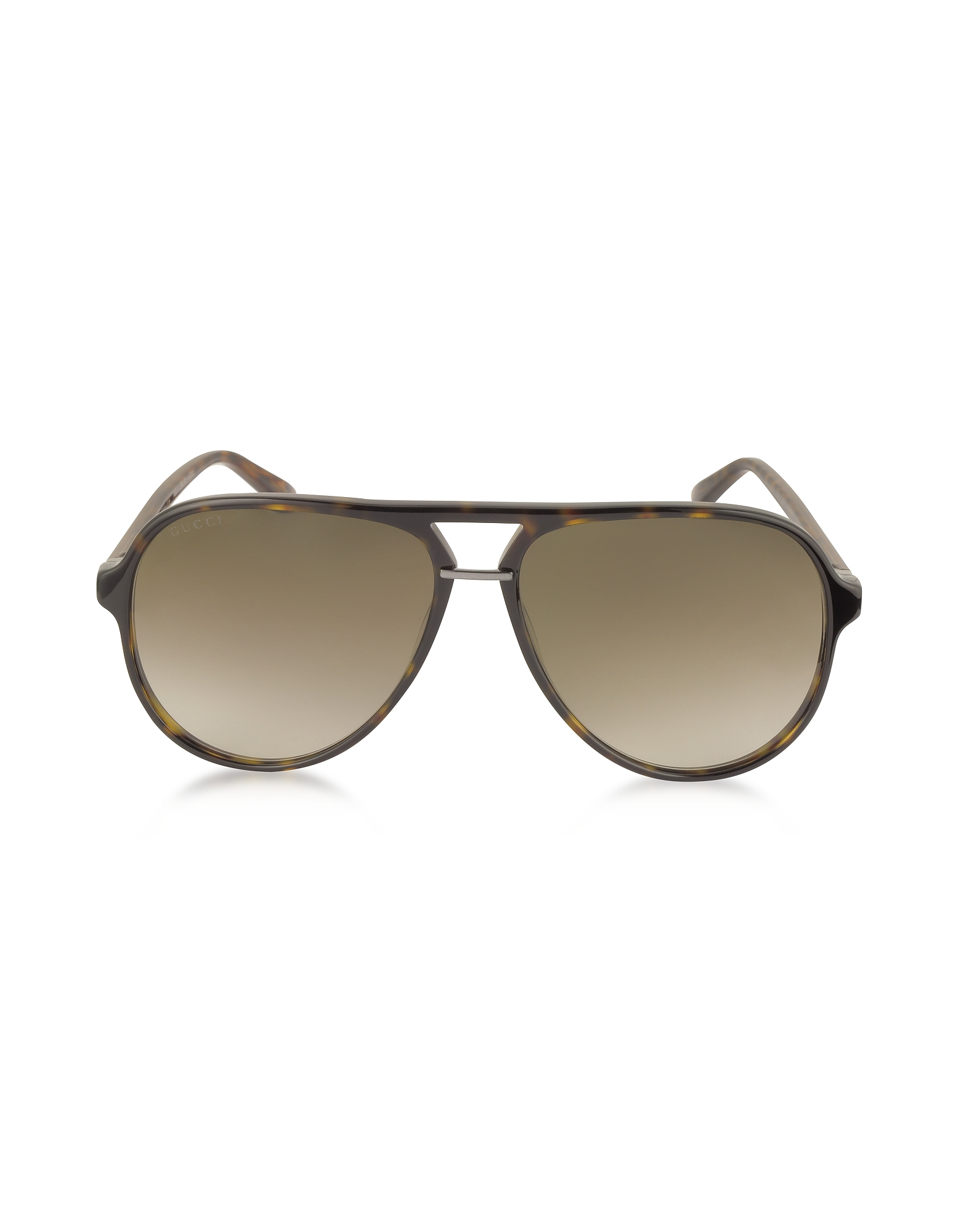 Gucci Sunglasses, GG0015S Acetate Aviator Men's Sunglasses