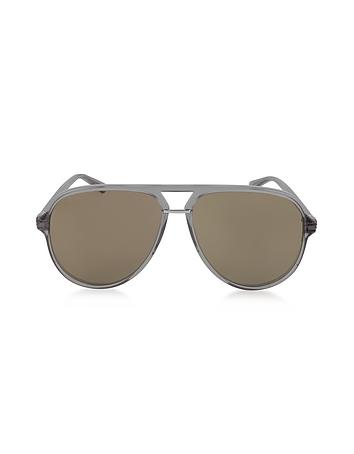 Gucci - GG0015S Acetate Aviator Men's Sunglasses