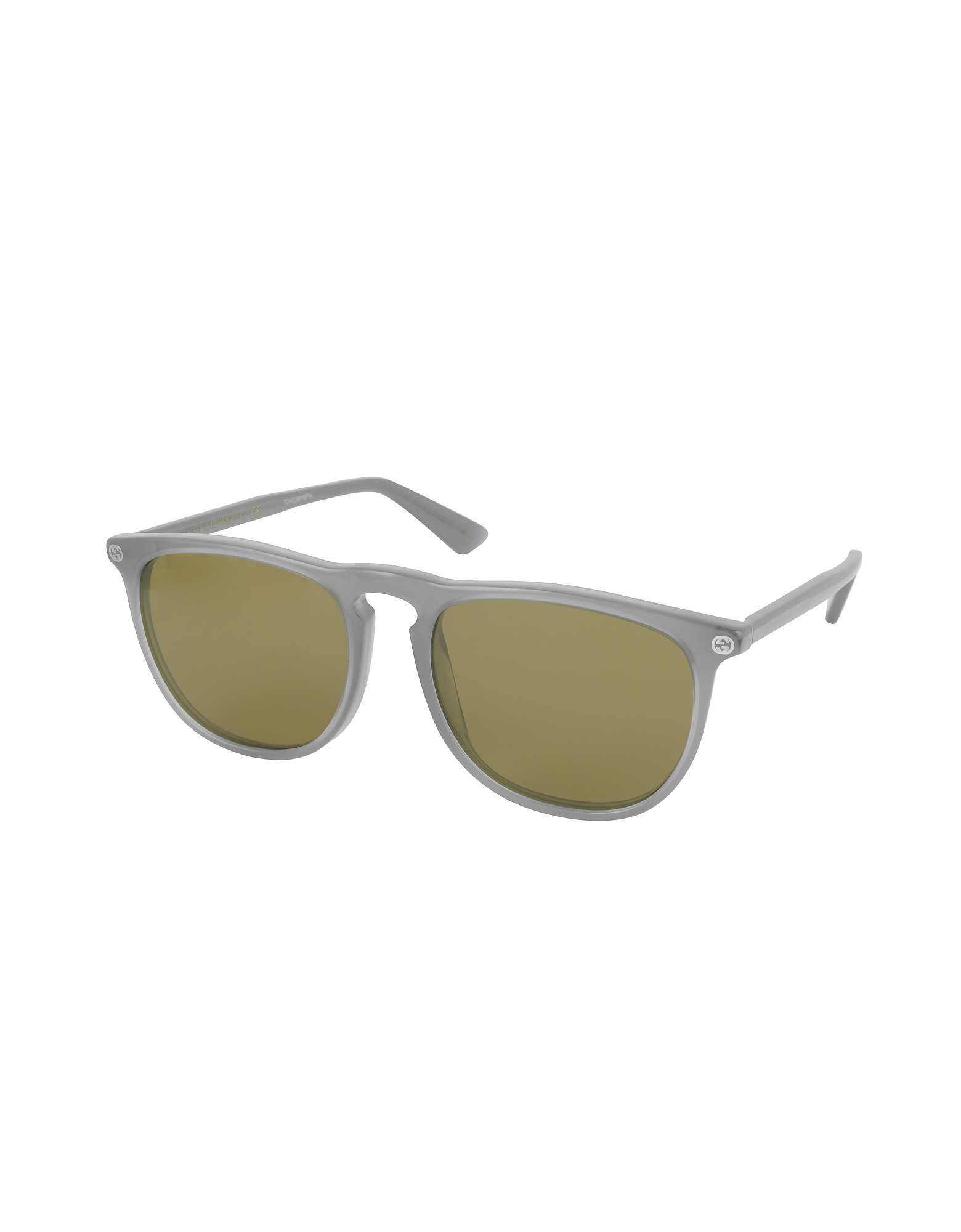 Фото GG0120S 005 - Серые Мужские Солнечные Очки Авиаторы из Ацетата. Купить с доставкой