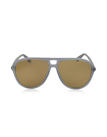 Gucci - GG0119S Acetate Aviator Men's Sunglasses