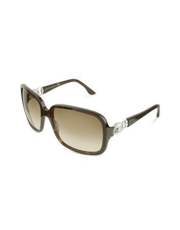 Gucci Marina Chain Temple Sunglasses