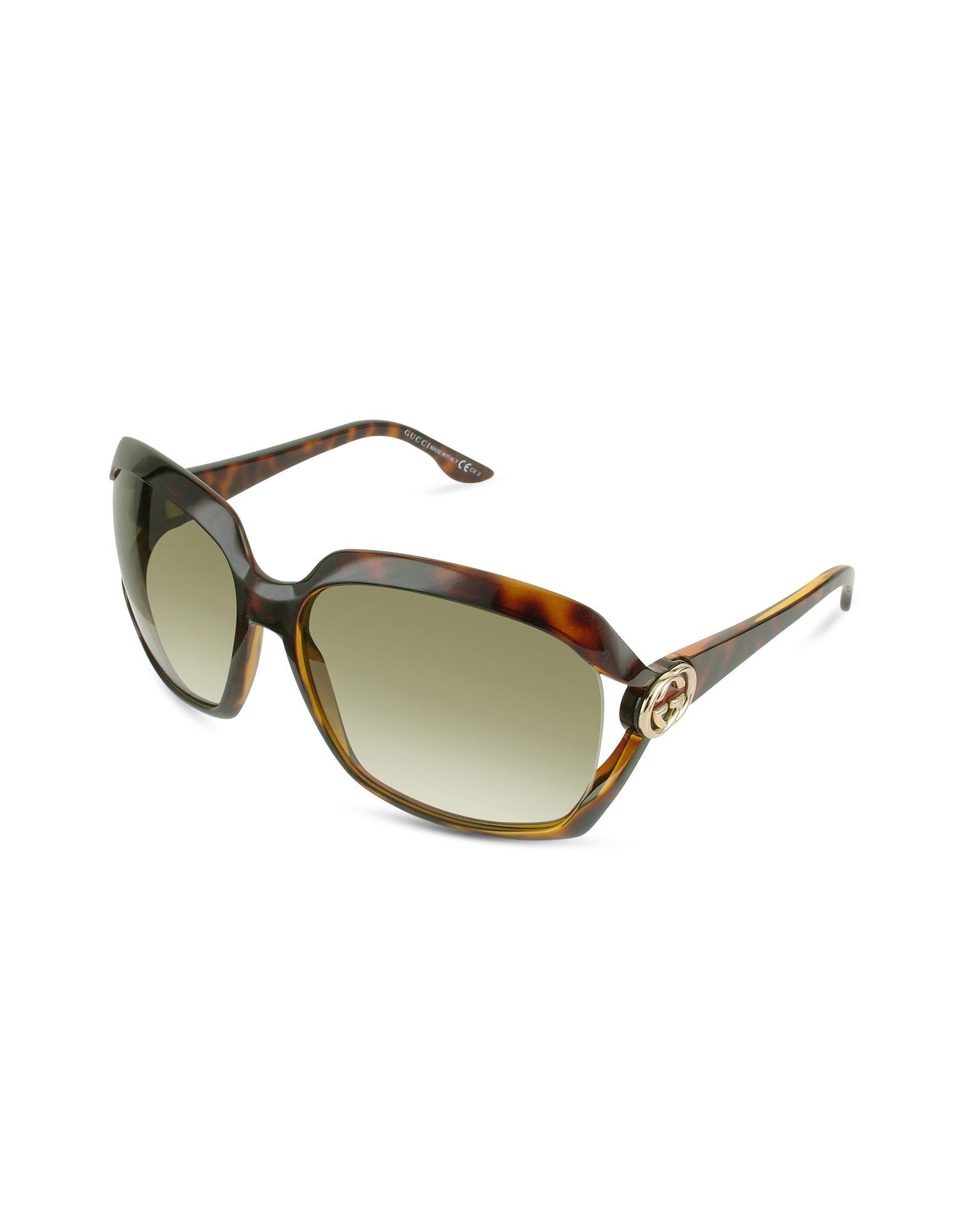 Gucci GG Web Vented Lens Sunglasses