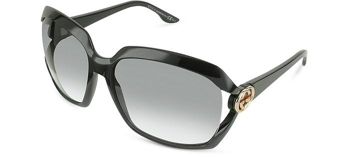 GG Web Vented Lens Sunglasses - Gucci