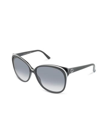 Gucci Women's Round GG Logo Sunglasses