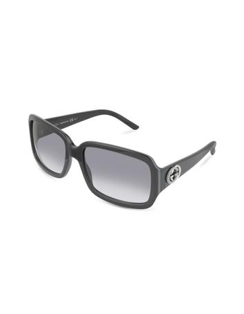 Gucci Women's GG Logo Rectangle Sunglasses