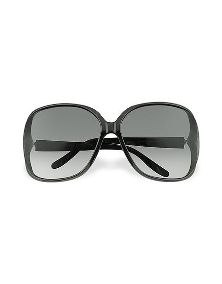 Foto Gucci Occhiali da Sole in Acetato con Logo a Cuore