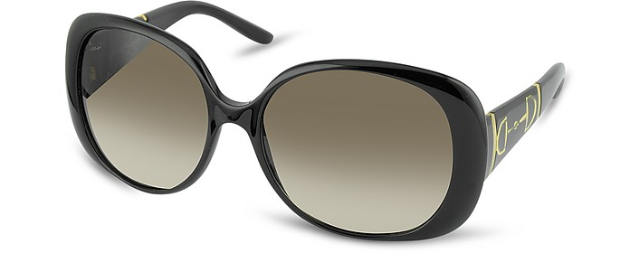 Horsebit Large Oval Sunglasses - Gucci