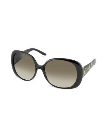 Horsebit Large Oval Sunglasses