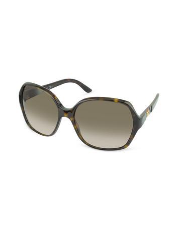 Large Square Frame Sunglasses