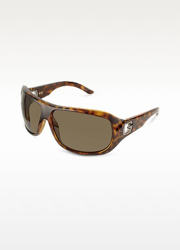 Logo Cutout Temple Sunglasses - Gucci