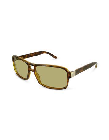 Signature Metal Plate Sunglasses