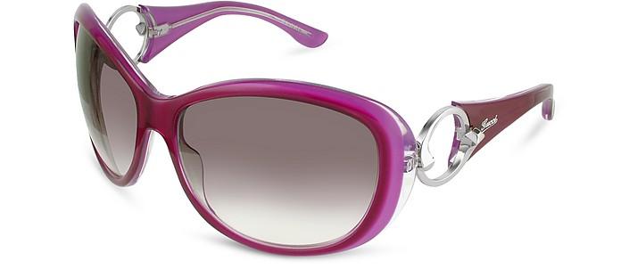 Signature Cutout Temple Sunglasses - Gucci