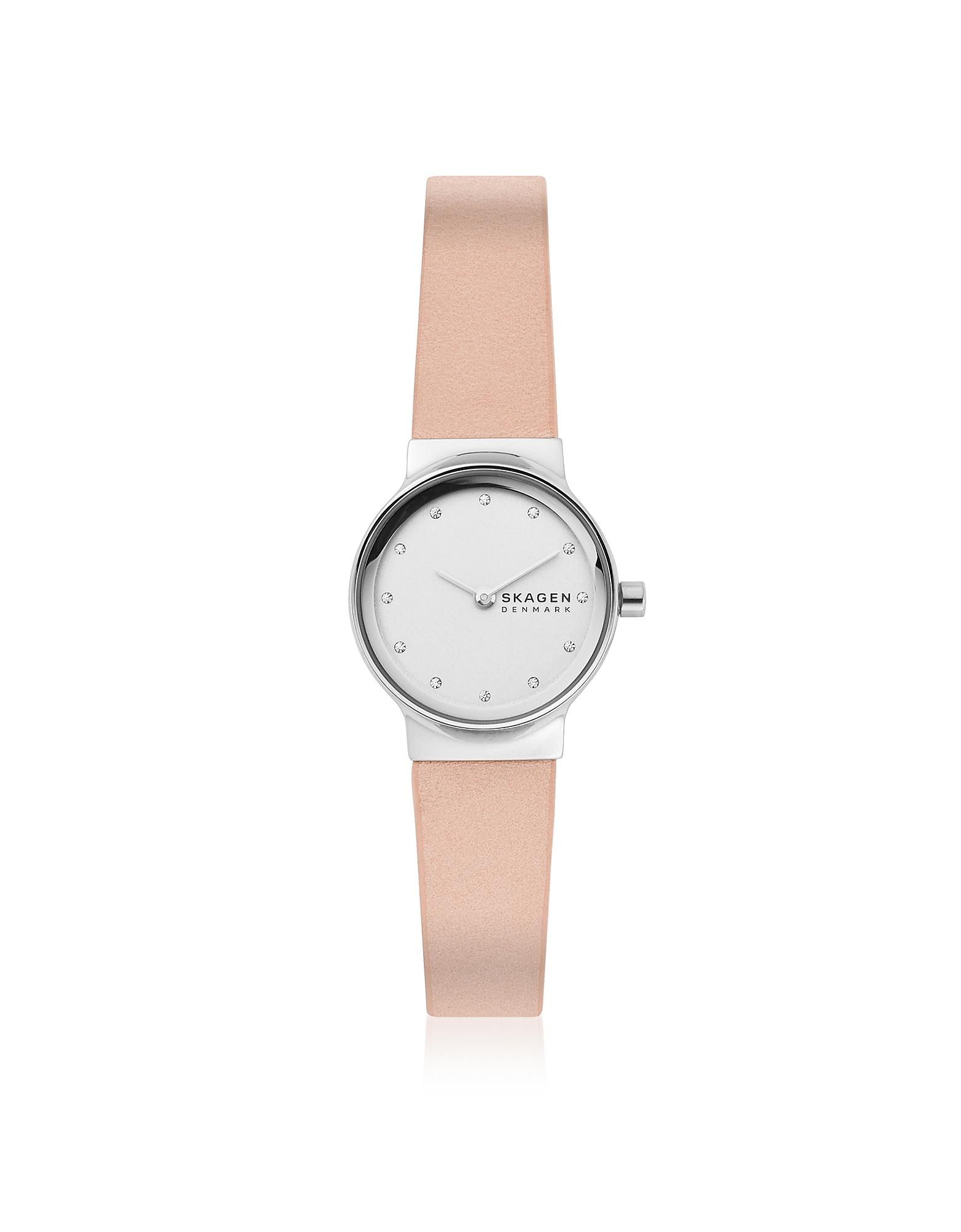 Freja Mini Blush Leather Watch