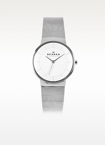 Nicoline Stainless Steel Mesh Women's Watch - Skagen