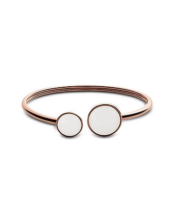 White Sea Glass Women's Bracelet