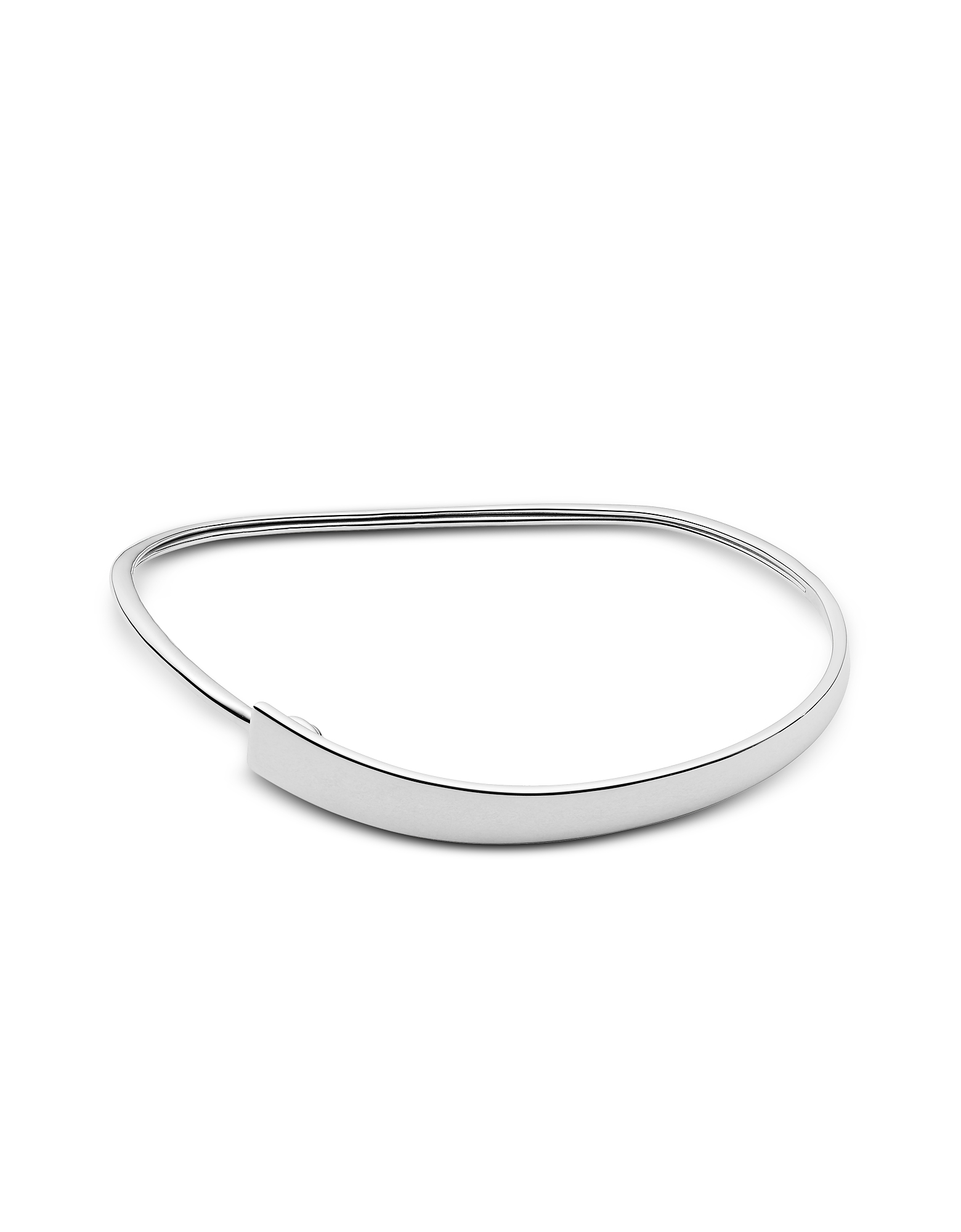 Skagen Bracelets, Kariana Silver-Tone Bangle