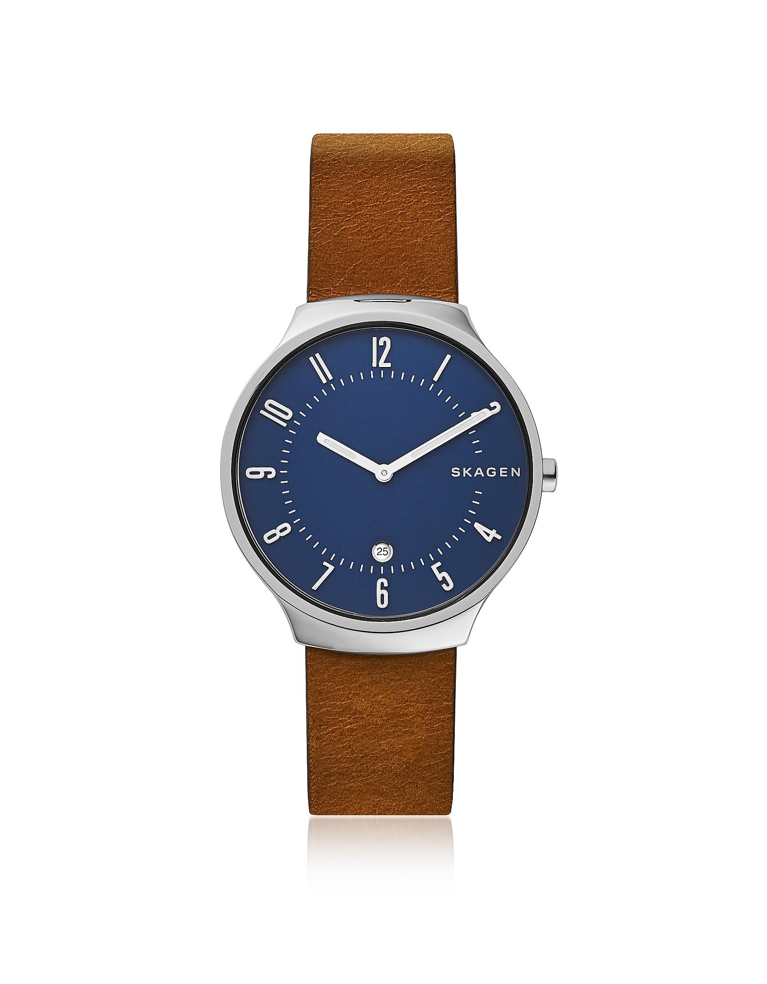 Тонкие Мужские Часы SKW6457 Grenen