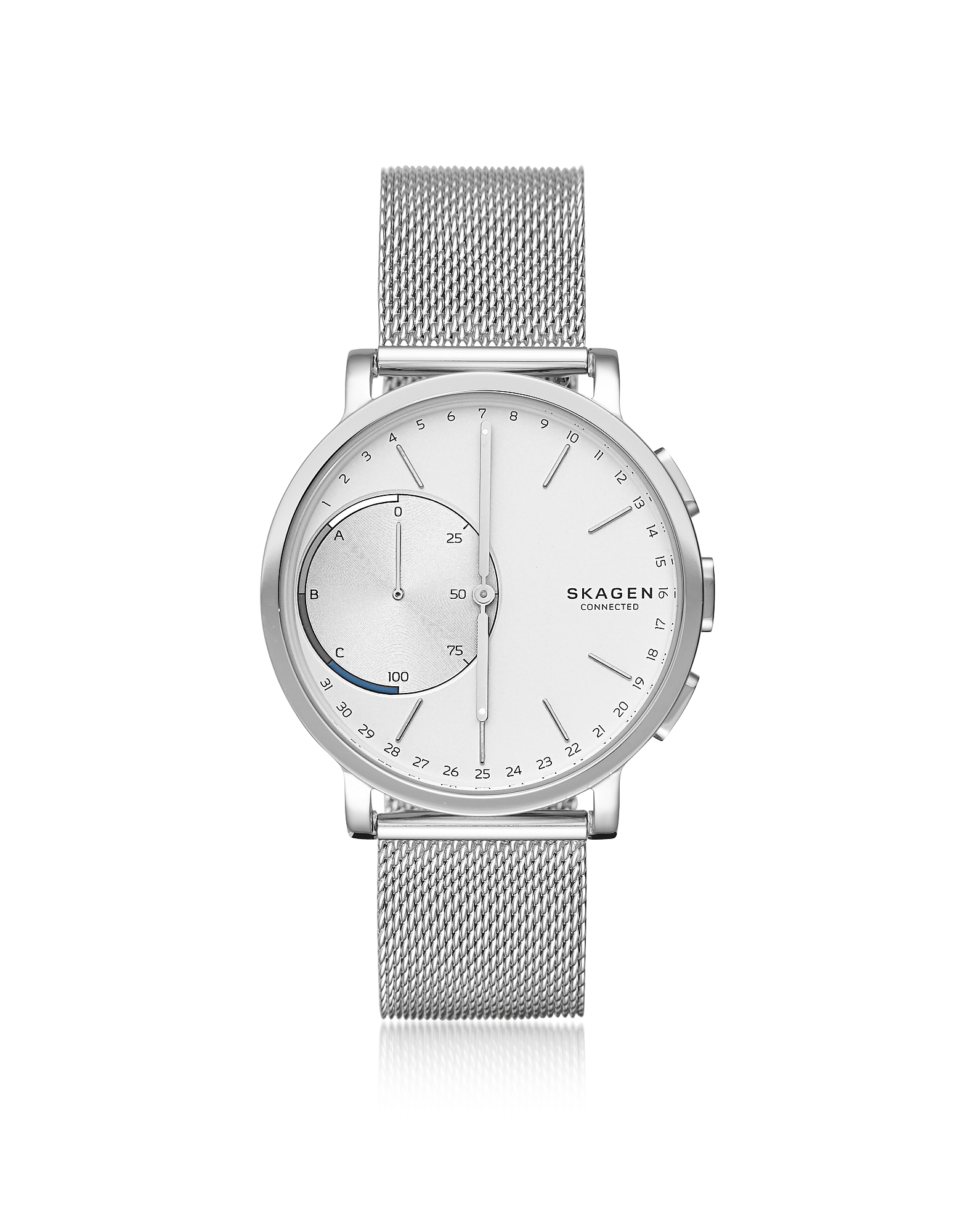 Skagen Men's Watches, Hagen Hybrid Steel Mesh Men's Smartwatch