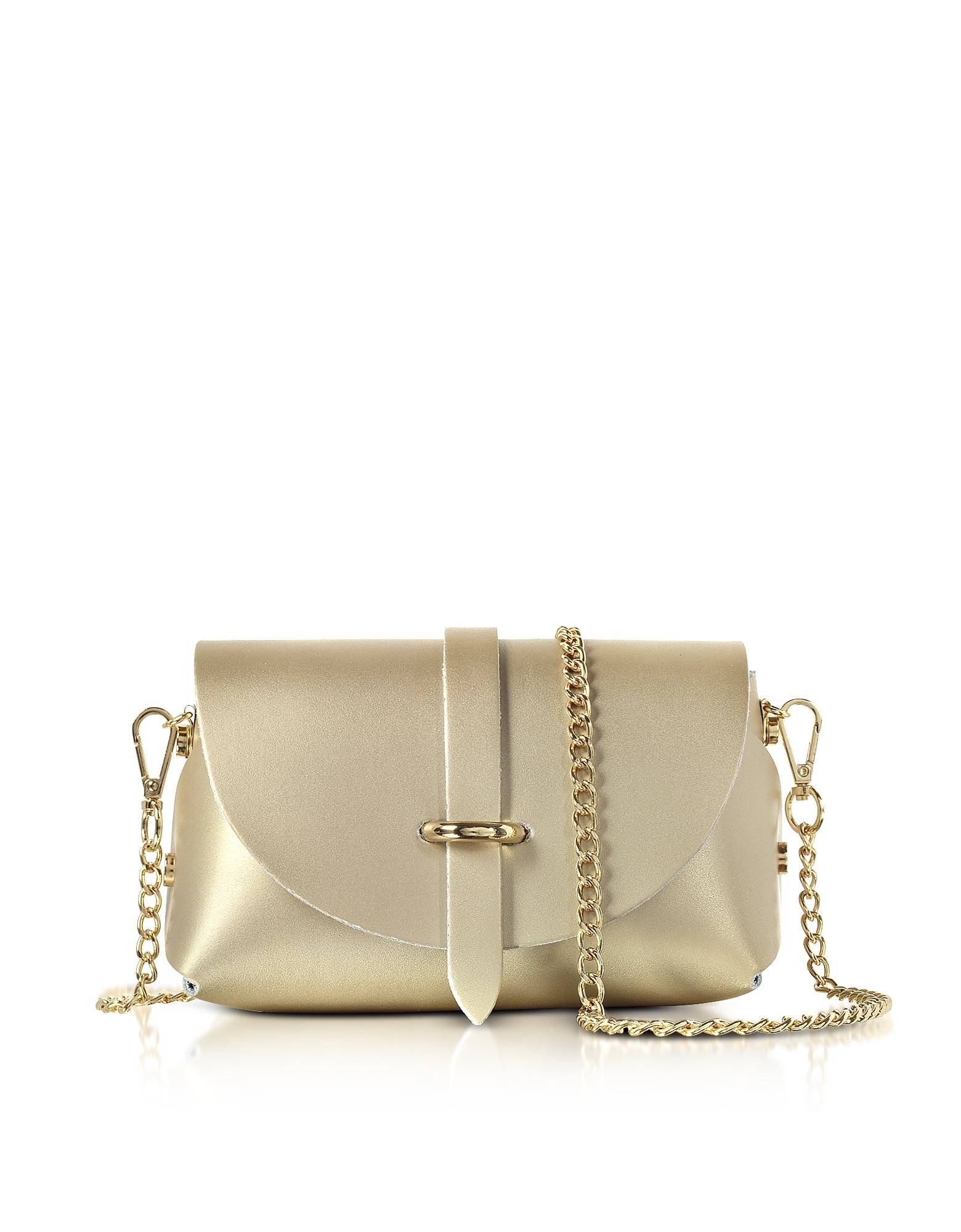 GISÈLE 39 | Gisèle 39 Designer Handbags, Caviar Metallic Leather Mini Shoulder Bag | Goxip