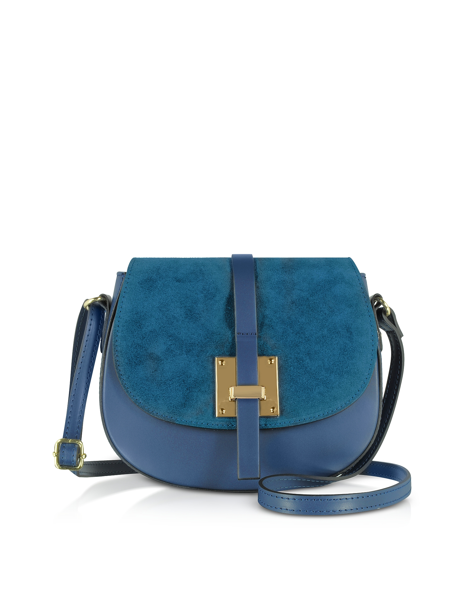 GISÈLE 39 | Gisèle 39 Designer Handbags, Pollia Leather And Suede Shoulder Bag | Goxip