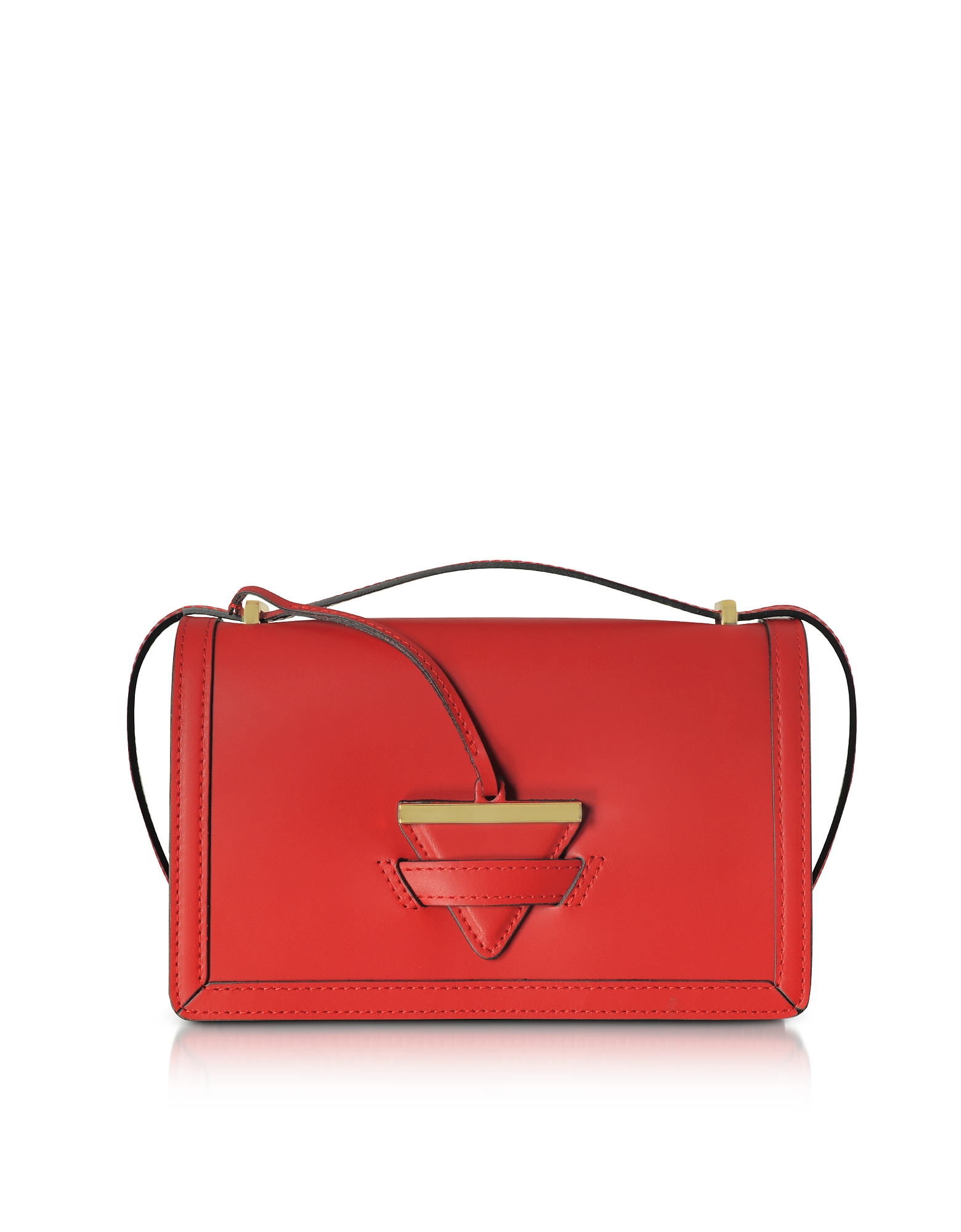 GISÈLE 39   Gisèle 39 Designer Handbags, Diodora Shoulder Bag W/Golden Triangle Charm   Goxip