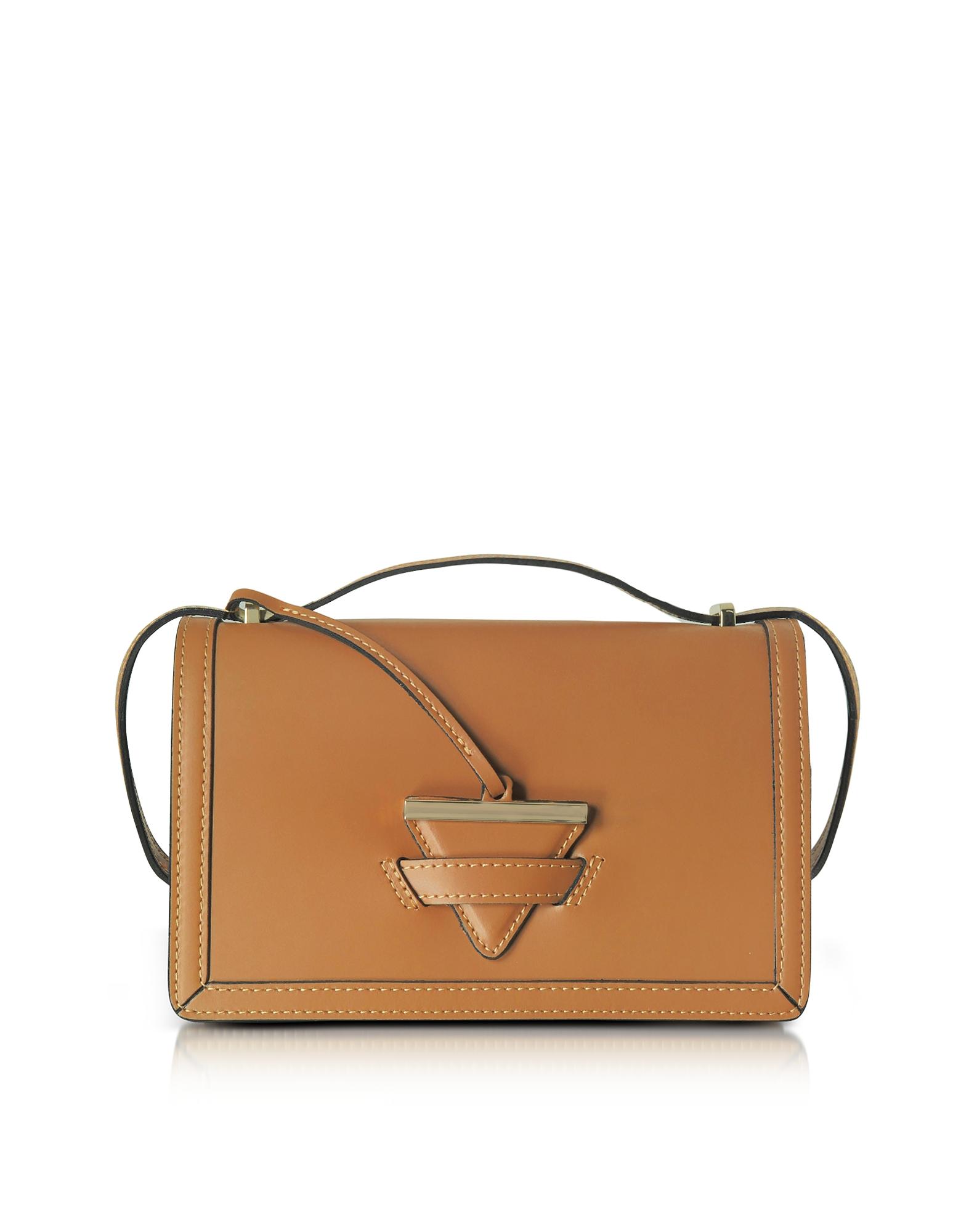 GISÈLE 39 | Gisèle 39 Designer Handbags, Diodora Shoulder Bag W/Golden Triangle Charm | Goxip