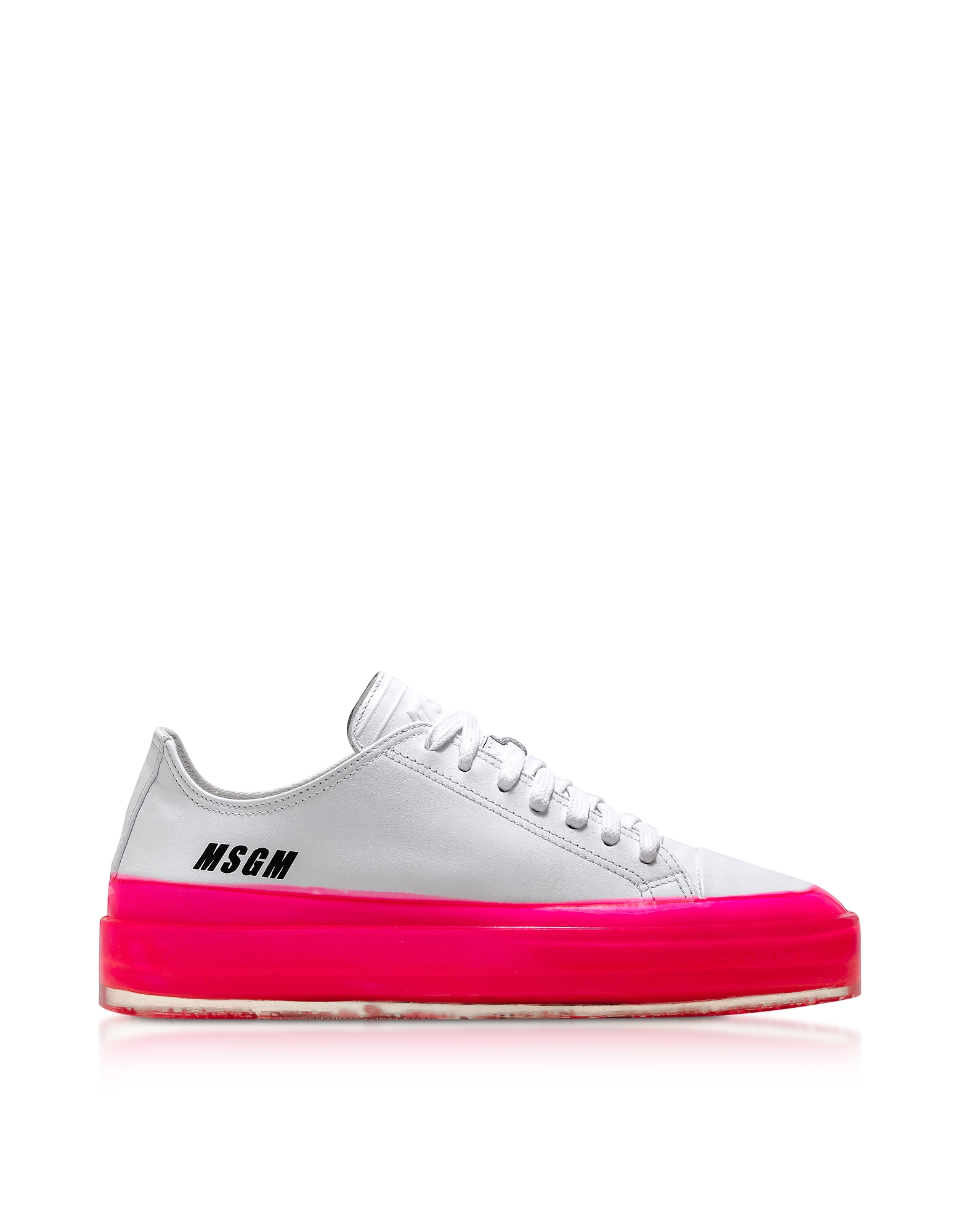 MSGM Fuchsia Floating Sneakers