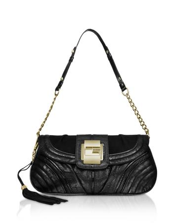 Foto der Handtasche Guess Leona - Schultertasche aus Kunstleder