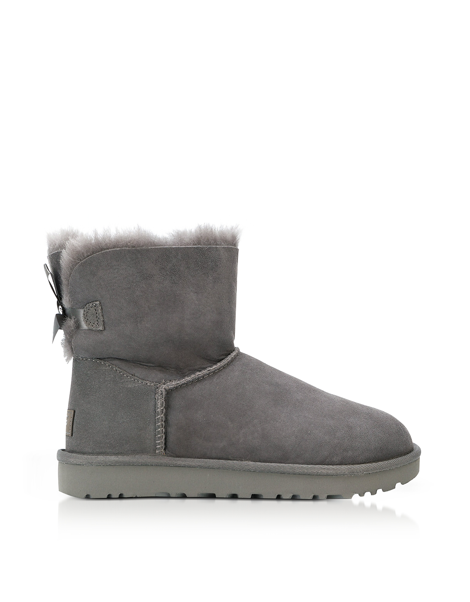 Mini Bailey Bow II Boots in Montone Gray