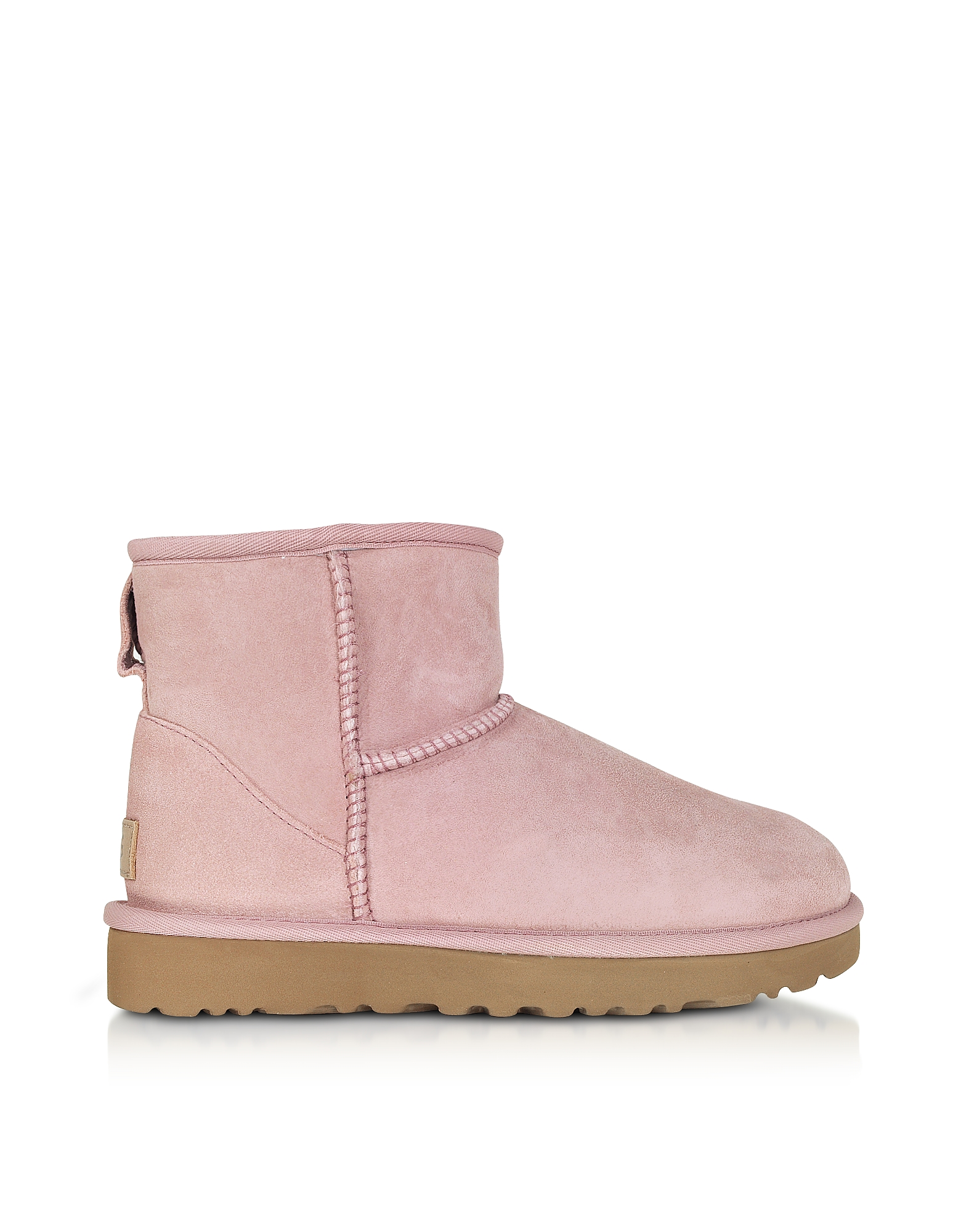 UGG Designer Shoes, Pink Crystal Classic Mini II Boots