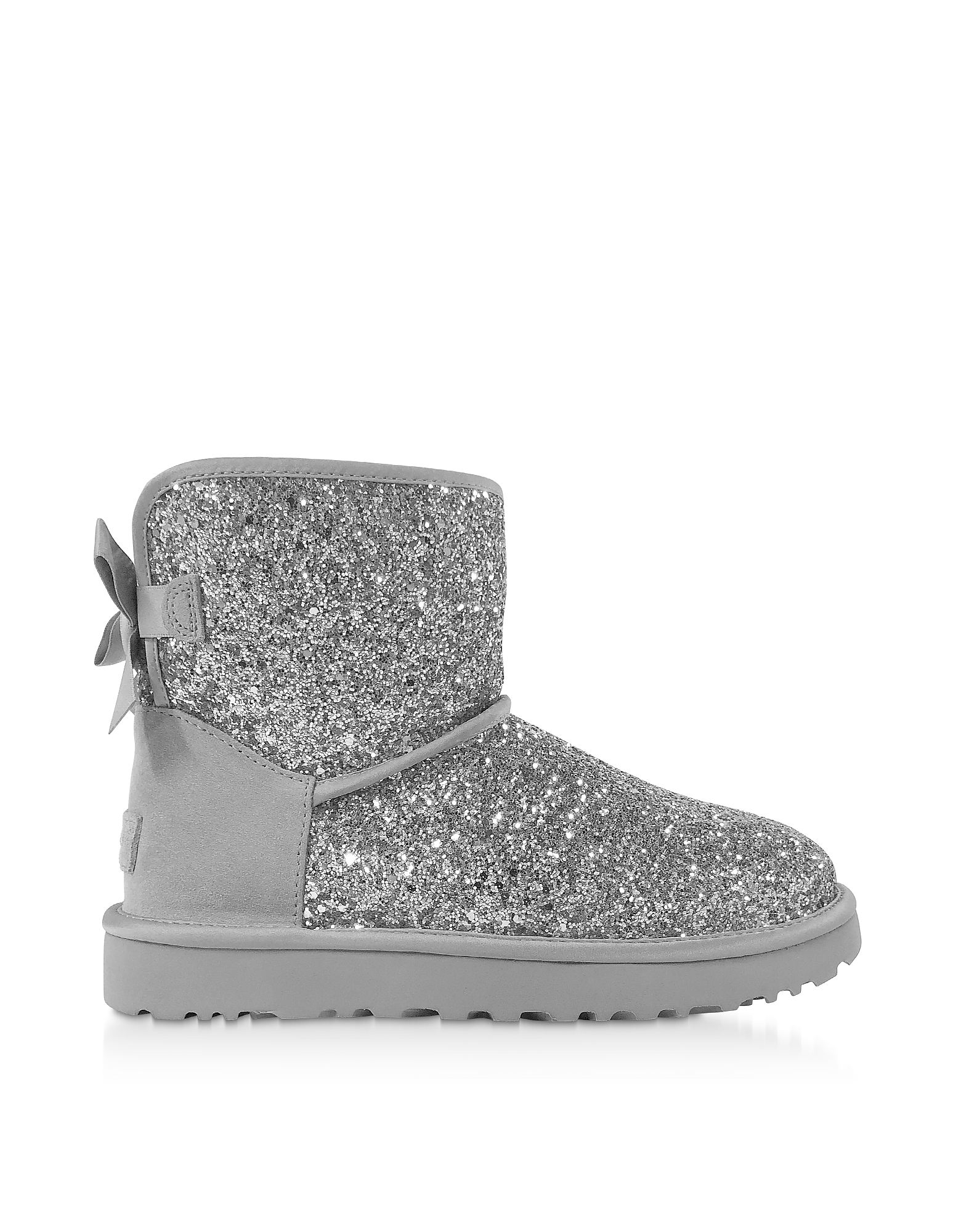 Cosmos Silver Classic Mini Bow Boots