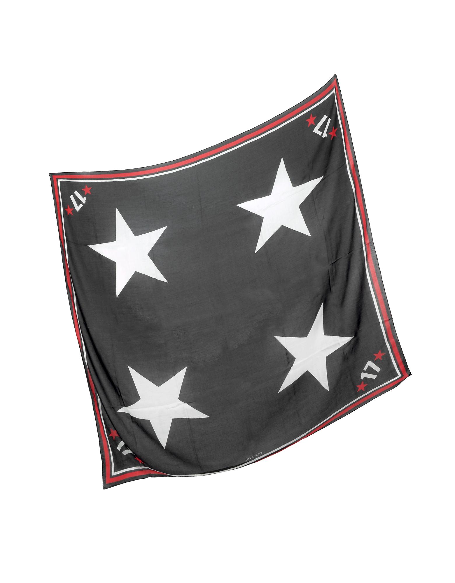 Black Modal and Cashmere 17 Print Wrap от Forzieri.com INT