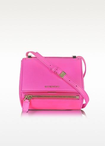 Pandora Shocking Pink Leather Mini Box Bag - Givenchy